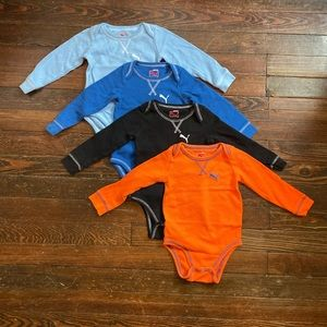 18 month Puma thermal onesies